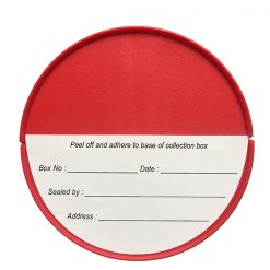 Collection Box base label