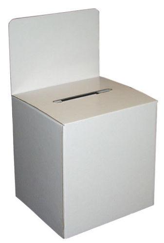 cardboard ballot box